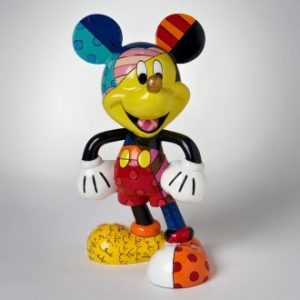 Disney Britto Mickey Mouse Figurine Large