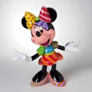 Disney Britto Minnie Mouse Figurine Large