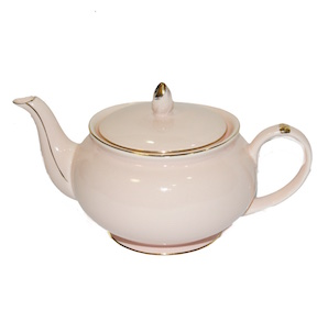 Christiana Vintage Pink Teapot