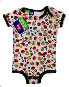 Richmond Sesame St Babies Play Romper