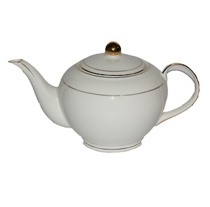 Christiana Miss Alice White Teapot