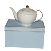 Christiana Miss Alice White Teapot
