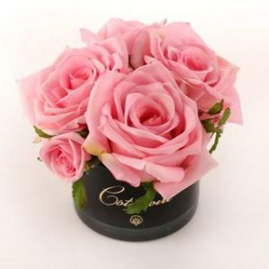 Côte Noire Perfumed 5 Pink Roses