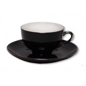 Christiana Lady Sienna Black Teacup