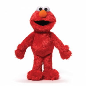 Sesame St Soft Toy Elmo 30cm