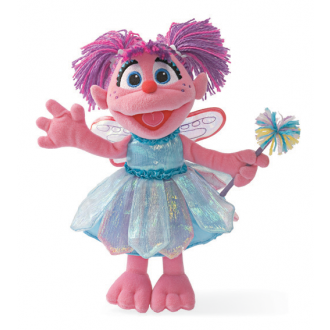 Sesame St Soft Toy Abby Cadabby 30CM