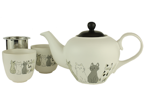 Five Kittens Tea Set