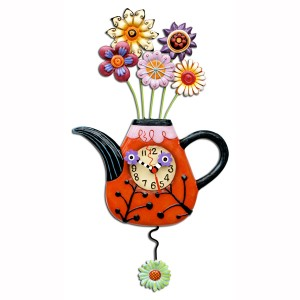 Flower-tea-ful Clock
