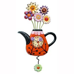 Flower-tea-ful Clock
