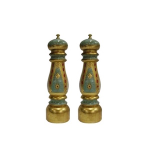 Chiarugi Florentine Salt and Pepper Mill Set 28cm