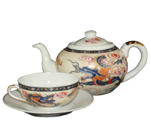Blue Dragon Tea Set