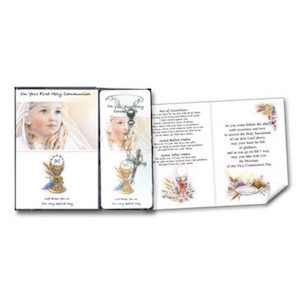 First Holy Communion Girls Rosary and Prayer Booklet