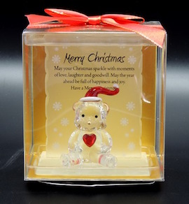 Merry Christmas Bear Keepsake