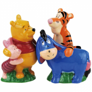 Winnie The Pooh Best Friends Salt and Pepper Shakers