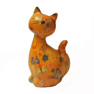 Pomme Pidou Caramel Cat Money Bank