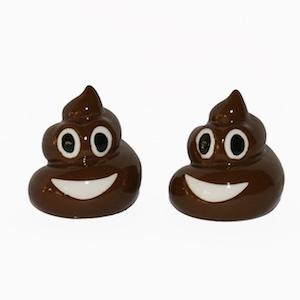 Emoji Poop Salt and Pepper
