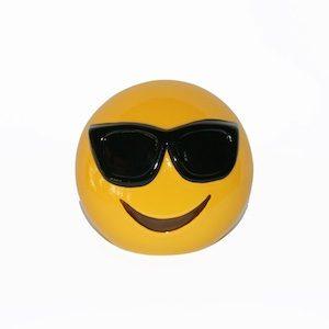 Emoji Sunglasses Money Box