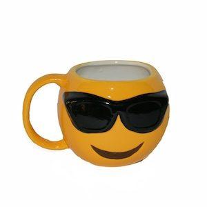 Emoji Sunglasses Mug