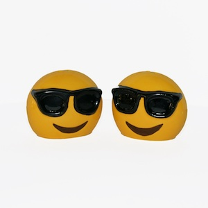 Emoji Sunglasses Salt and Pepper