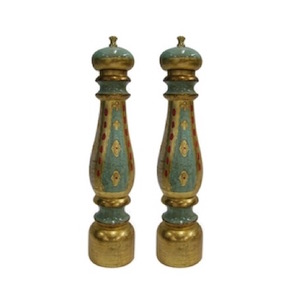 CHIARUGI FLORENTINE SALT AND PEPPER MILL SET 50CM