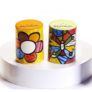 Britto Flower Salt And Pepper Shakers