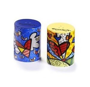 Britto Heart Salt And Pepper Shakers