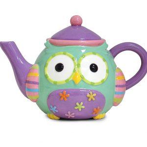 Wise Owl Teapot