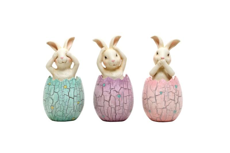 Bunny Rabbit Christmas Ornaments