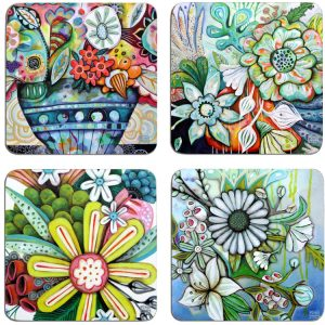 Bountiful Blooms Coasters