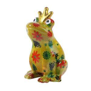 Pomme Pidou Theo King Frog Money Bank