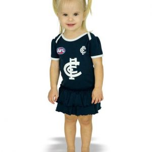 AFL Carlton Girls Footy Suit