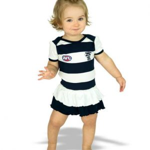 AFL Geelong Girls Footy Suit