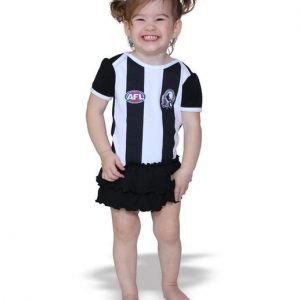 AFL Collingwood Girls Footy Suit