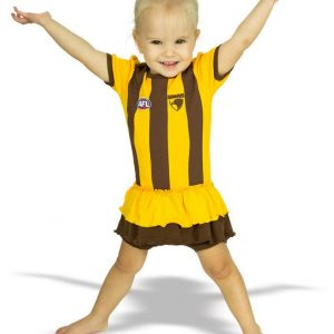AFL Hawthorn Hawks Girls Footy Suit
