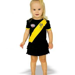 AFL Richmond Tigers Girls Footy Suit