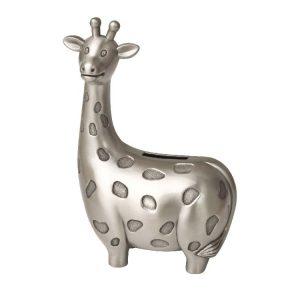 Pewter Giraffe Money Box