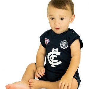 AFL Carlton Short Footy Suit