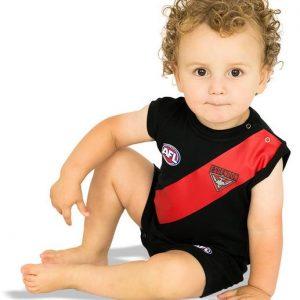 AFL Essendon Short Footy Suit