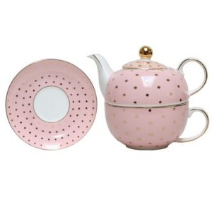 Christiana Miss Alice Tea For One Dusty Pink