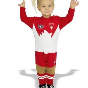 AFL Sydney Swans Original Footy Suit
