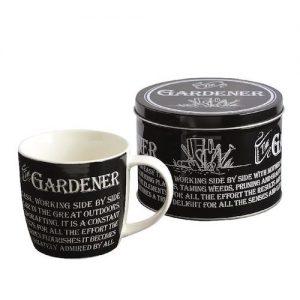 Gardener Mug In A Tin