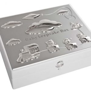 Baby's White Keepsake Box