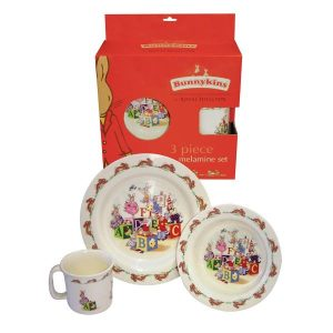Royal Doulton Bunnykins 3 Piece Set ABC Design