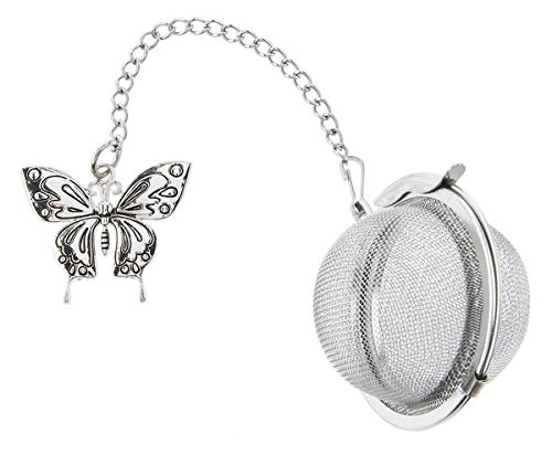 Butterfly Charm Tea Ball Infuser