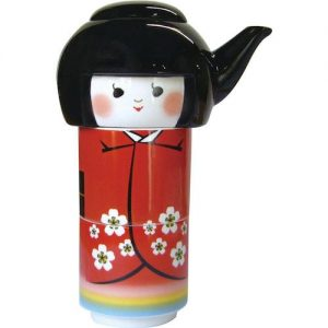 Kokeshi Doll Tea For Two Set