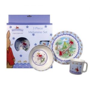 Royal Doulton Bunnykins 3 Piece Set Shining Stars