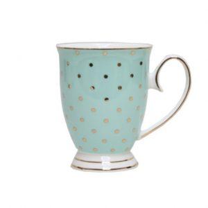 Christiana Miss Alice Turquoise Mug