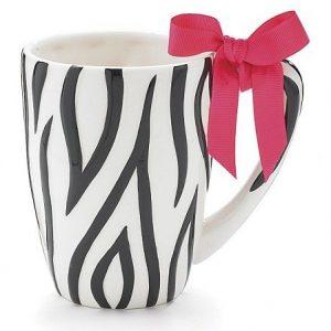 Zebra Print Tall Mug