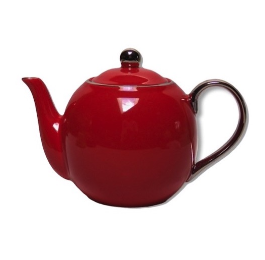 Christiana Lady Sienna Red Teapot