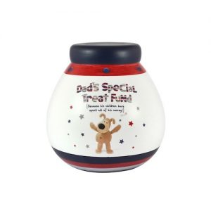 Boofle Dads Special Treat Fund Pot Of Dreams Money Box